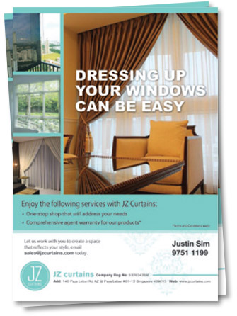 Flyer-Design-for-JZ-Curtain