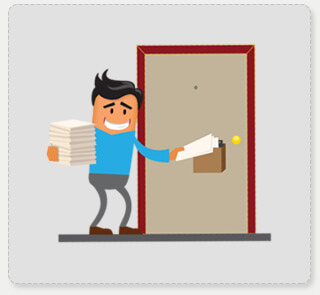 Types of Distribution HDB Door to Door